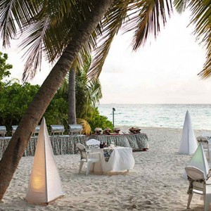 Maldives Honeymoon Packages Biyadhoo Island Barbecue Beach Dining
