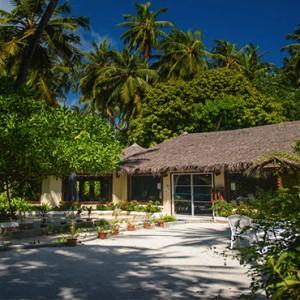Maldives Honeymoon Packages Biyadhoo Island Palm Restaurant Exterior