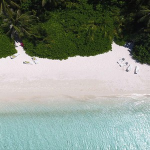 Maldives Honeymoon Packages Biyadhoo Island Aerial View Of Beach