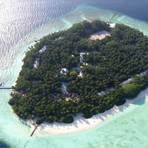 Maldives Honeymoon Packages Biyadhoo Island Aerial View2