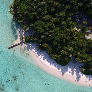 Maldives Honeymoon Packages Biyadhoo Island Aerial View3