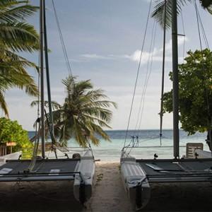 Maldives Honeymoon Packages Biyadhoo Island Yacht On Beach
