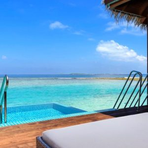 Maldives Honeymoon Packages Sheraton Full Moon Resort Water Bungalow With Pool 7