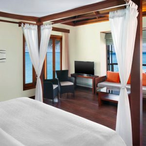 Maldives Honeymoon Packages Sheraton Full Moon Resort Water Villa With Pool