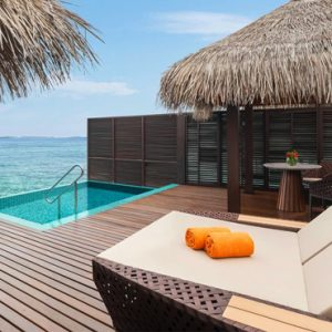 Maldives Honeymoon Packages Sheraton Full Moon Resort Water Villa With Pool 4