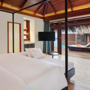 Maldives Honeymoon Packages Sheraton Full Moon Resort Water Villa With Pool 5