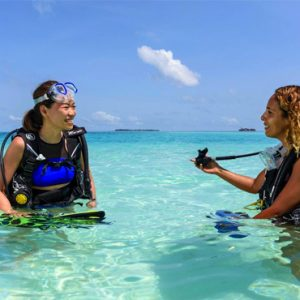 Maldives Honeymoon Packages Sheraton Full Moon Resort Diving