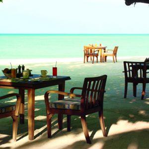 Maldives Honeymoon Packages Taj Exotica Maldives 24 Degrees Restaurant