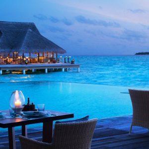 Maldives Honeymoon Packages Taj Exotica Maldives Dining