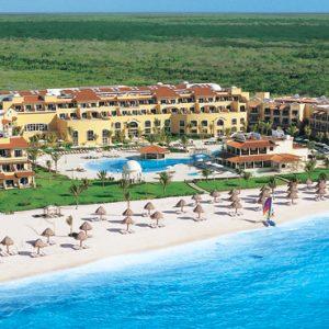Mexico Honeymoon Packages Secrets Capri Riviera Cancun Exterior 3