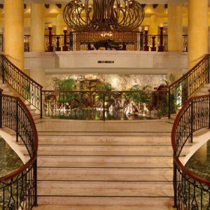 Mexico Honeymoon Packages Secrets Capri Riviera Cancun Lobby