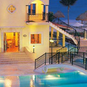 Mexico Honeymoon Packages Secrets Capri Riviera Cancun Pool
