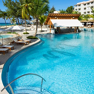 Pool - Sandals Barbados - Luxury Barbados Honeymoon Packages