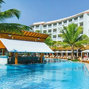 Pool bar - Sandals Barbados - Luxury Barbados Honeymoon Packages
