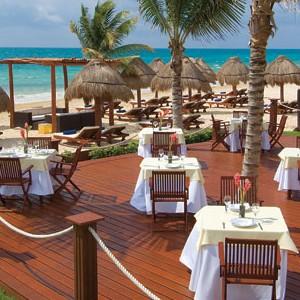 Secrets Capri Riviera - Mexico Luxury Holidays - resturant