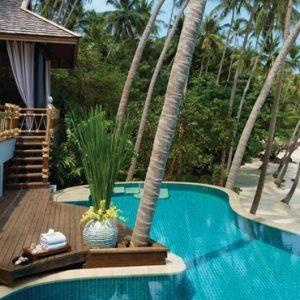 Thailand Honeymoon Packages Four Seasons Koh Samui Beach Villa With Pool