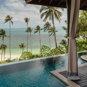 Thailand Honeymoon Packages Four Seasons Koh Samui Beachfront Pool Villa 3