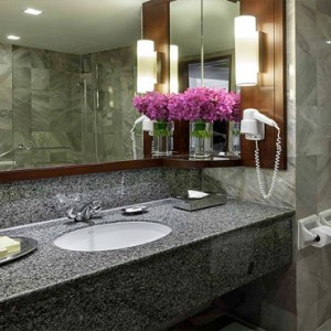 Thailand Honeymoon Packages Rembrandt Hotel Bangkok Executive Room Bathroom