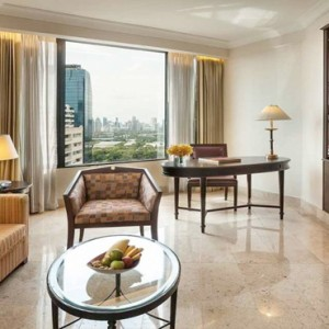 Thailand Honeymoon Packages Rembrandt Hotel Bangkok Executive Suite Living Area1