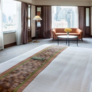 Thailand Honeymoon Packages Rembrandt Hotel Bangkok Grand Executive Suite Bedroom