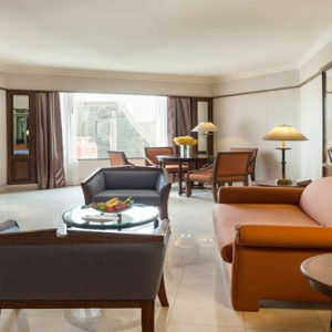Thailand Honeymoon Packages Rembrandt Hotel Bangkok Grand Executive Suite Living Area