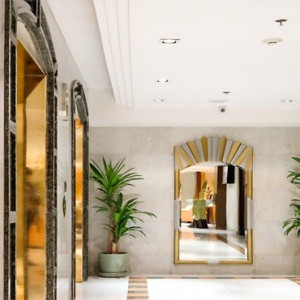 Thailand Honeymoon Packages Rembrandt Hotel Bangkok Lift Area