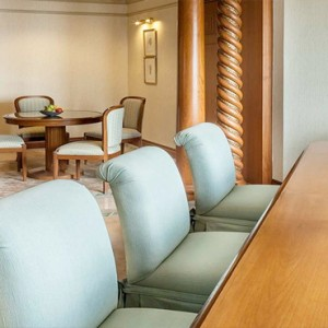Thailand Honeymoon Packages Rembrandt Hotel Bangkok Presidential Suite Dining Area
