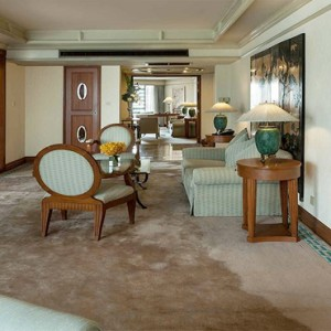 Thailand Honeymoon Packages Rembrandt Hotel Bangkok Presidential Suite Living Area