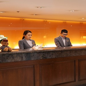 Thailand Honeymoon Packages Rembrandt Hotel Bangkok Reception Area