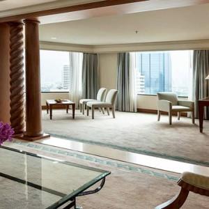 Thailand Honeymoon Packages Rembrandt Hotel Bangkok Rembrandt Suite Living Area