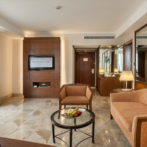 Thailand Honeymoon Packages Rembrandt Hotel Bangkok Terrace Suite Living Area