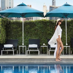 Thailand Honeymoon Packages Rembrandt Hotel Bangkok Women By Pool