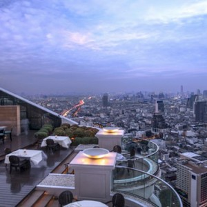 Thailand Honeymoon Packages Lebua At State Tower Breeze Restaurant Bar