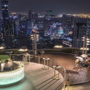 Thailand Honeymoon Packages Lebua At State Tower City View From Rooftop Bar
