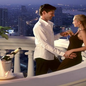Thailand Honeymoon Packages Lebua At State Tower Guestroom