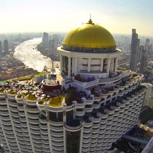 Thailand Honeymoon Packages Lebua At State Tower Hotel Exterior