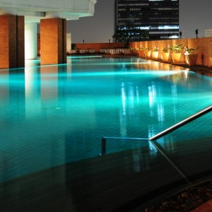 Thailand Honeymoon Packages Lebua At State Tower Pool At Night