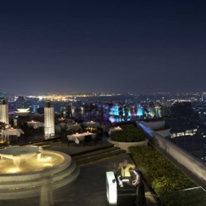 Thailand Honeymoon Packages Lebua At State Tower Sirocco View