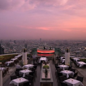Thailand Honeymoon Packages Lebua At State Tower Sirocco View1