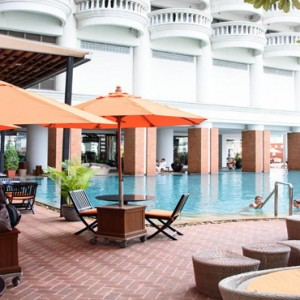 Thailand Honeymoon Packages Lebua At State Tower Swimming Pool