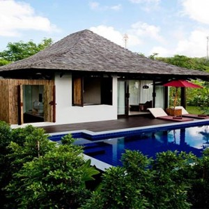 The Vijitt - Luxury Thailand Honeymoon Packages - Deluxe Pool Villa exterior
