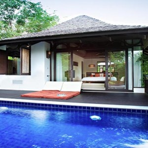 The Vijitt - Luxury Thailand Honeymoon Packages - Deluxe Pool Villa exterior pool