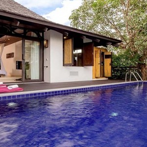 The Vijitt - Luxury Thailand Honeymoon Packages - Deluxe Pool Villa exterior pool1