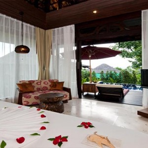 The Vijitt - Luxury Thailand Honeymoon Packages - Deluxe Pool Villa view