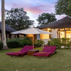 The Vijitt - Luxury Thailand Honeymoon Packages - Deluxe villa outdoor area