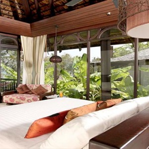The Vijitt - Luxury Thailand Honeymoon Packages - Deluxe villa seafront indoor