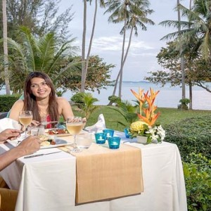 The Vijitt - Luxury Thailand Honeymoon Packages - In villa dining