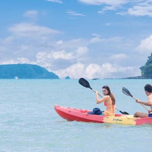 The Vijitt - Luxury Thailand Honeymoon Packages - Kayaking