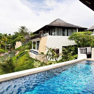 The Vijitt - Luxury Thailand Honeymoon Packages - Prime Pool Villa pool