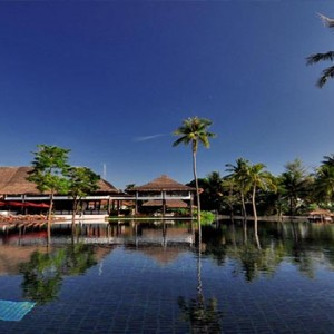 The Vijitt - Luxury Thailand Honeymoon Packages - Restaurant exterior